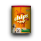 Chips for Dogs Salami flavor - Chips per cani gusto salame 120gr.