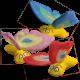 FARFALLA (ass.) Catnip Butterfly