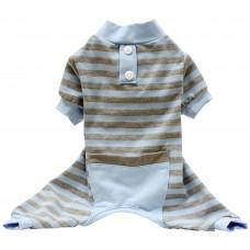 Classic Striped PJ Blue