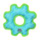 Tuffy DuraForce Med Gear Ring Tiger Blue-Green
