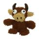 Tuffy Mighty Microfiber Ball Med Bull
